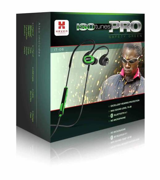 ISOtunes Pro Industrial Listen Only box